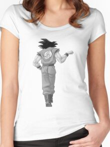 "Goku, best friend (To buy in combo with ""Vegeta, best friend"") Women's Fitted Scoop T-Shirt"