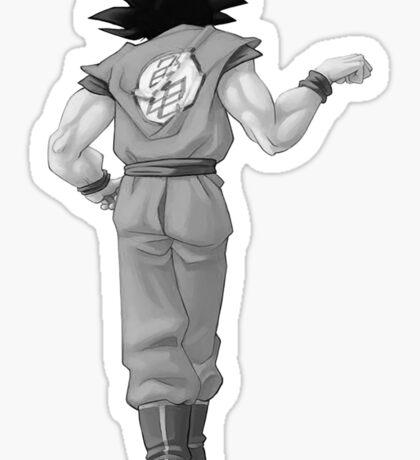 "Goku, best friend (To buy in combo with ""Vegeta, best friend"") Sticker"