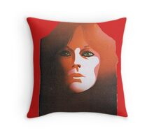 "Frida from ABBA, ""The Album"" solo design n° 3 (of4) Throw Pillow"