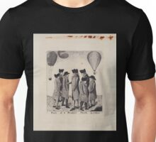 0187 ballooning Fowls of a feather flock together K fecit 1785 Unisex T-Shirt