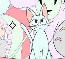 Pastel Ghibli Sticker