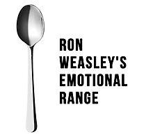 You've got the emotional range of a teaspoon! Photographic Print