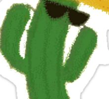 Fosters Home For Imaginary Friends Dancing Cactus Sticker