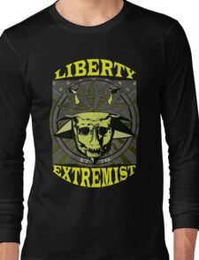LIBERTY EXTREMIST GOLD 1 Long Sleeve T-Shirt
