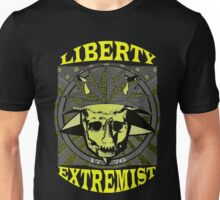 LIBERTY EXTREMIST GOLD 1 Unisex T-Shirt