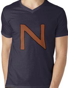 Squid - Rocket Power Mens V-Neck T-Shirt