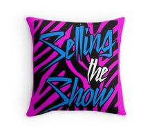 Dolph Ziggler - Selling the Show Throw Pillow
