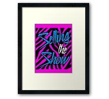 Dolph Ziggler - Selling the Show Framed Print