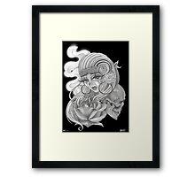 Yhercat x Sal Lopez Framed Print