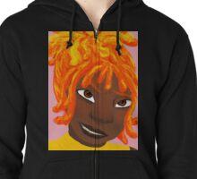Flame Princess (Human) Zipped Hoodie