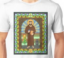 Icon of St. Francis of Assissi  Unisex T-Shirt
