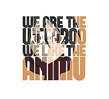 Weeaboos Like Animu - Mikasa Ackerman Photographic Print