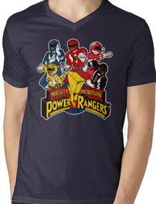 Power Ranger Mens V-Neck T-Shirt