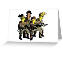 GHOSTBUSTER Greeting Card