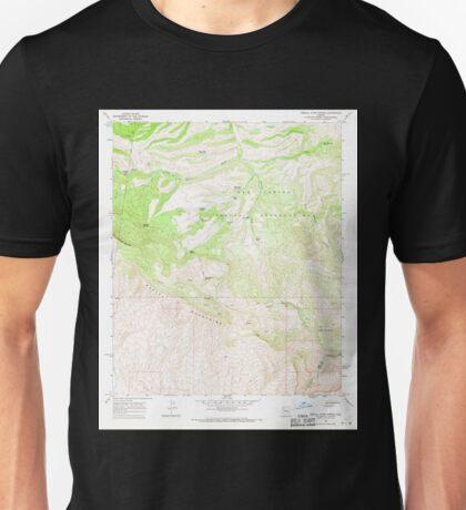 USGS TOPO Map Arizona AZ Mescal Warm Spring 312332 1968 24000 Unisex T-Shirt