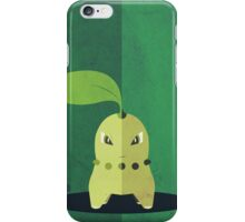 Pokemon - Chikorita #152 iPhone Case/Skin