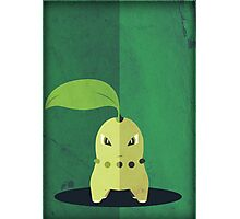Pokemon - Chikorita #152 Photographic Print