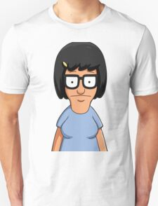 Tina Belcher Unicorn Pattern Purple Unisex T-Shirt