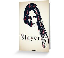 Icons - Buffy Summers Greeting Card