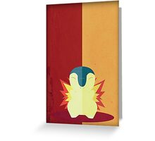Pokemon - Cyndaquil #155 Greeting Card