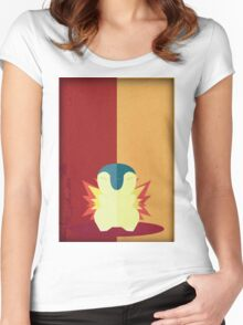 Pokemon - Cyndaquil #155 Women's Fitted Scoop T-Shirt