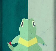 Pokemon - Totodile #158 by yaz17