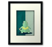 Pokemon - Totodile #158 Framed Print