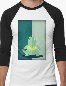 Pokemon - Totodile #158 Men's Baseball ¾ T-Shirt