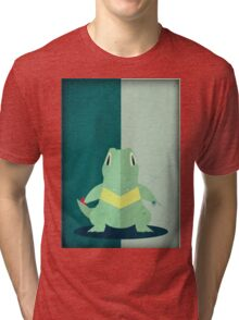 Pokemon - Totodile #158 Tri-blend T-Shirt