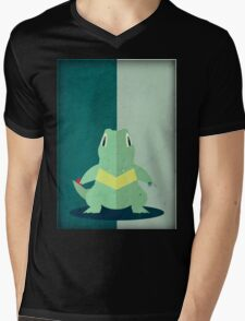 Pokemon - Totodile #158 Mens V-Neck T-Shirt