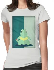 Pokemon - Totodile #158 Womens Fitted T-Shirt