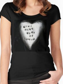 Joy Division - Love will tear us apart Women's Fitted Scoop T-Shirt