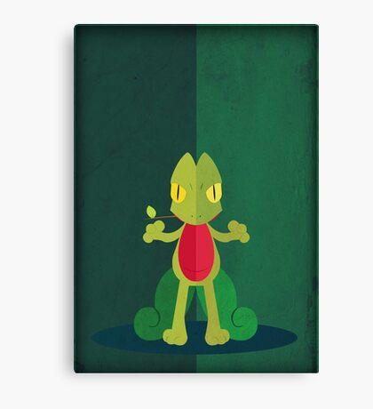 Pokemon - Treecko #252 Canvas Print