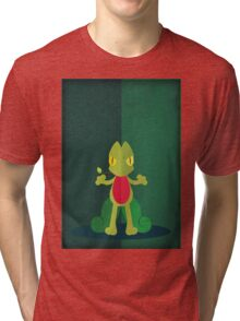 Pokemon - Treecko #252 Tri-blend T-Shirt