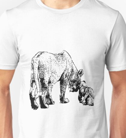 Mother and the cub Unisex T-Shirt