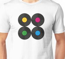 Vinyl Record Collection Unisex T-Shirt