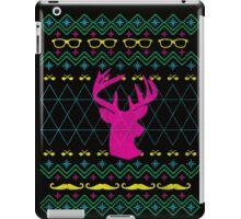 Ugly Hipster Sweater (Neon) iPad Case/Skin