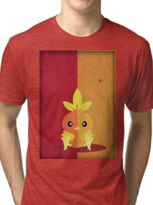 Pokemon - Torchic #255 Tri-blend T-Shirt