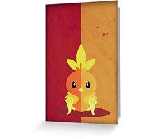 Pokemon - Torchic #255 Greeting Card