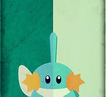 Pokemon - Mudkip #258 by yaz17