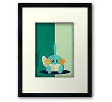 Pokemon - Mudkip #258 Framed Print