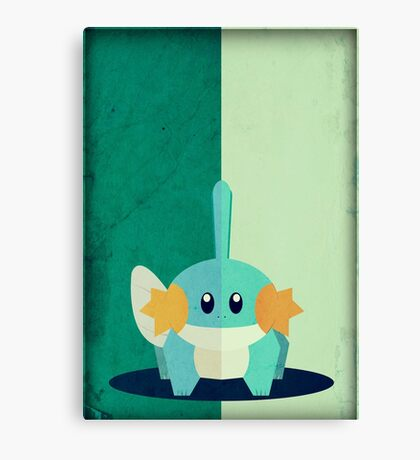 Pokemon - Mudkip #258 Canvas Print