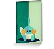 Pokemon - Mudkip #258 Greeting Card