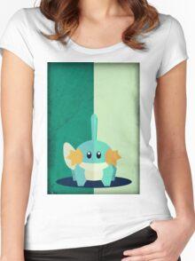 Pokemon - Mudkip #258 Women's Fitted Scoop T-Shirt