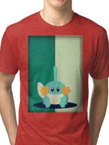 Pokemon - Mudkip #258 Tri-blend T-Shirt