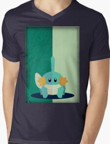 Pokemon - Mudkip #258 Mens V-Neck T-Shirt
