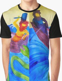 Thor and Hymir go Fishing Graphic T-Shirt