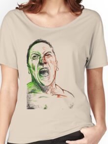 Jimmie Saffar Drawn as The Incredible Hulk Women's Relaxed Fit T-Shirt