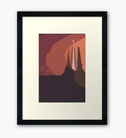 The Ivory Tower - The Neverending Story Framed Print