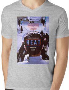 HEAT 9 Mens V-Neck T-Shirt